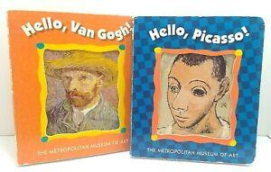 Metropolitan Museum Of Art Kids Board Bks (2) Hello, Van Gogh! Hello, Picasso!