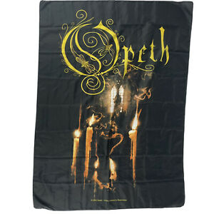 Opeth 2005 Wall Hanging Band Banner 42 X 30 Inch