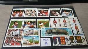 Timbres St Vincent MH*