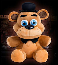Hot FNAF Five Nights at Freddy's Sanshee Freddy Plushie Bear Plush Toy 10""