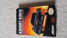 Knight Rider (Nintendo Entertainment System, 1989) with original box