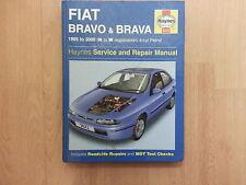 HAYNES WORKSHOP MANUAL FIAT BRAVO & BRAVA 1995 TO 2000 PETROL