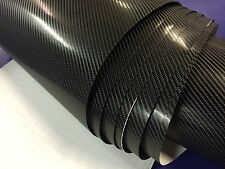 4D Black CARBON FIBRE VINYL 1520MM(59.8in) x 500MM(19.7in) WRAP FILM STICKER