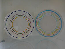 assiettes faïence art-déco vintage Italie design XXème CERAMIC by PN