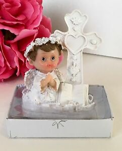 12-Baptism Communion Party Favors Angel Boy Keepsakes Recuerdos De Bautiso Nino