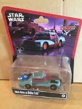 DISNEY CARS pressofusione STAR WARS-CHICK HICKS come Boba Fett-SPEDIZIONE COMBINATA