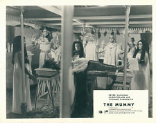 THE MUMMY ORIGINAL BRITISH HAMMER HORROR LOBBY CARD CHRISTOPHER LEE FRONT HOUSE