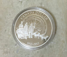 100th Anniversary of the Canadian Arctic Expedition (2013) - Fine Silver Dollar