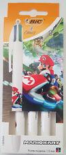Mario Kart. 3 sylos 4 couleurs Bic Neuf