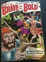 THE BRAVE AND THE BOLD. NO. 22. 1ST SERIES. 1959 SILVER AGE. THE VIKING PRINCE.