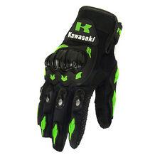 Kawasaki Gloves Motorcycle Motorcross Racing Moto Bike Full Finger Cycling Glove