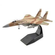 1/100 Alloy Diecast Airplane US F-15 Eagle Fighter Camo Aircraft Model Toy
