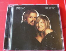 Barbra Streisand Guilty Too CD NEW SEALED 2005 Barry Gibb