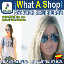 Gafas de Sol Niños Adulto Aviador Unisex Ray Aviator Model Adult Kids Sunglasses