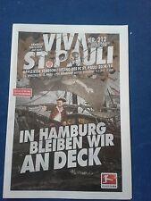 Programm FC St.Pauli - FSV Frankfurt 14/15