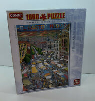 King Comic Collection El Rastro Madrid.1000 piece Jigsaw Puzzle.