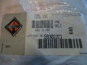 Genuine OEM International Harvester Seat Belt 593022C1 Brand New Sealed.