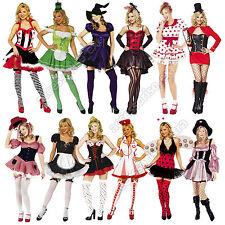 Womens Halloween Fancy Dress Costumes Sexy Many Styles Size XS-XL Lot