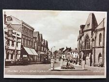 Vintage RPPC: Berkshire: #T86: Market Place: Wokingham