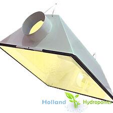 "5"" Air Cool Vent Hydroponics Hps/mh Grow Light Reflector 95 Aluminium Lamp Cord"