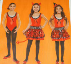 Para Halloween Lucifer 158 Cm Children/'s Devil Girl Costume Large 11-13 años