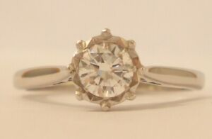 Platinum 0.45pt VS1 Diamond Engagement Ring with a £2,200.00 Valuation