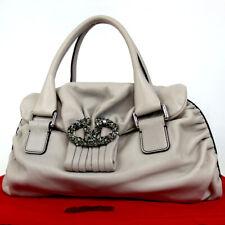 Authentic Valentino Garavani 4WB185NSR1 Crystal bijoux logo Handbag Soft Cal...