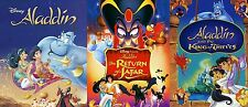 Aladdin Complete Trilogy 1 2 3 DVD Disney Movies ( Only 12$ - Super Sale !!! )