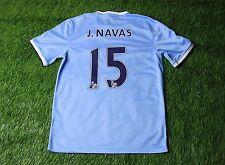 MANCHESTER CITY # 15 J. NAVAS 2013/2014 FOOTBALL SHIRT JERSEY HOME NIKE ORIGINAL