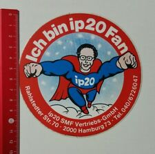 Aufkleber/Sticker: Ich bin ip20 Fan - ip20 SMF Vertriebs-GmbH (23021768)
