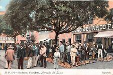 Portugal postcard Madeira Funchal Mercado de Botas
