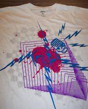 TONY HAWK 80'S STYLE Skateboarding SKULL T-Shirt XL NEW