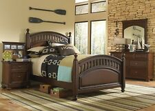 Pulaski Expedition Youth 4 Piece Bedroom Set, Full