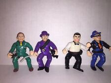 "Dick Tracy Big Boy The Tramp Mumbles Itchy 5"" Figure Lot Playmates 90s"