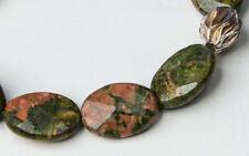 UNAKIT (Epidot-Feldspat) (Natur)  Armband