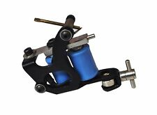 Devils Needle Tattoo Gun/ Machine - Black + Blue Design - UK Seller!!