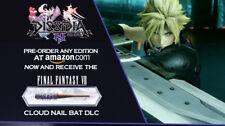 Dissidia Final Fantasy NT Cloud Strife's Nail Bat weapon DLC Only (No PS4 Game)