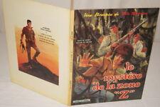 BOB MORANE LE MYSTERE DE LA ZONE Z VERNES FORTON 1970 BD