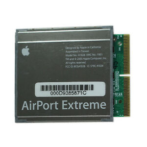 AirPort Extreme Card 802.11G For Apple iBook iMac PowerBook PowerMac A1026 G4 G5