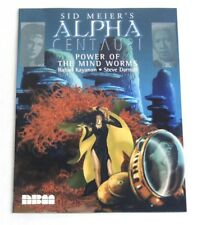 Sid Meier's ALPHA CENTAURI: Power of the Mind Worms (graphic novel tie-in, NBM)
