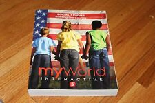 My World Interactive Pearson Social Studies 5th Grade Building Our Country NEW!!