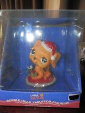 Littlest Pet Shop Bobble Head  Christmas Puppy Dog GOLDEN RETRIEVER