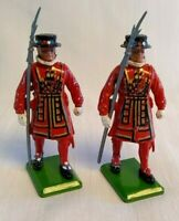 Britains Ltd Royal Guard Beefeater Yeomen Toy Soldiers Lead Metal England