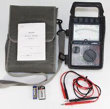 Metrix mx230 Multimeter analogique voltmètre ampèremètres ITT appareil de mesure messleitungen