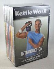 Lot of 6 KETTLEWORX Workout DVDs - New in Shrinkwrap - Six-Week Body 10-Minute