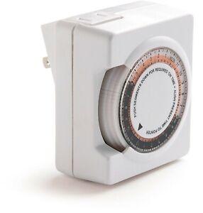 Kichler 15552WH Landscape Lighting Transformer Timer T25/16FMD Plug-In
