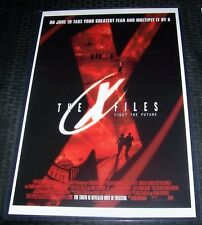 The X-Files 11X17 Movie Poster Duchovny Pileggi William Davis Jillian Anderson