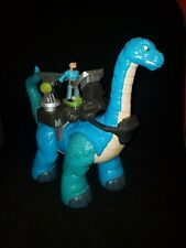 New ListingFisher-Price Imaginext 2010 Blue Apatosaurus Dinosaur Heavy Duty Articulated Toy