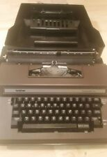 Brother Correction Automatic 12 Electric Typewriter Model 3800 With Hard Case