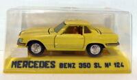 Joal 1/43 Appx Scale Vintage diecast - 124 Mercedes Benz  350 SL Yellow